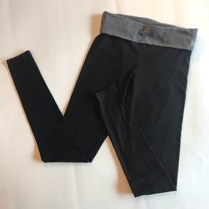 Victoria's Secret Black Leggings Angels Small Yoga